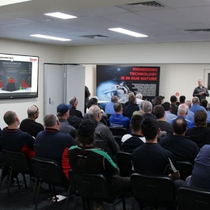 The AIC has a versatile training room for industry events/seminars/training. @garrettmotion chose the space to host a successful training evening for 60 invitees. Contact the AIC to book your session or learn more.  #AIC #autoinnovation #automotivemanufacturing #automotiveindustry #garrett