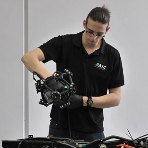 If you need to see the automotive world in 3D, Jack is our 3D Specialist.  #AIC #autoinnovation #automotiveindustry #3D #3Dscanning